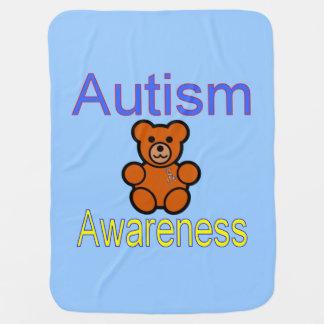 Couverture de bébé d'autisme