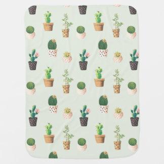 Couverture de bébé de cactus