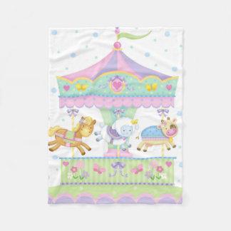 Couverture de bébé de carrousel