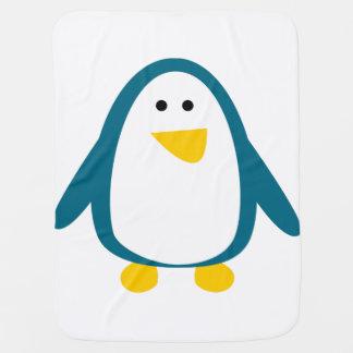 Couverture de bébé de pingouin