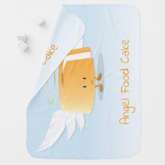 Couverture de bébé du gâteau de nourriture d'ange