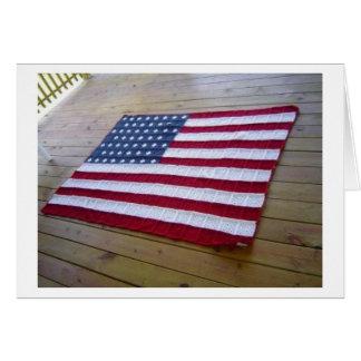 Couverture de drapeau américain carte