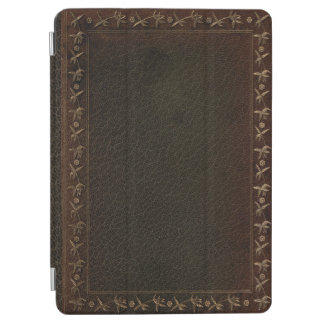 Couverture de livre de cuir de relief protection iPad air