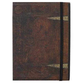 """Couverture de livre gravée par limite antique de iPad pro 12.9"""" case"""