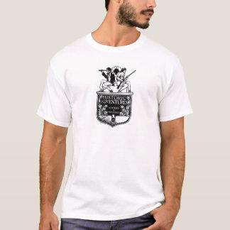 Couverture de livre vintage - aventures t-shirt