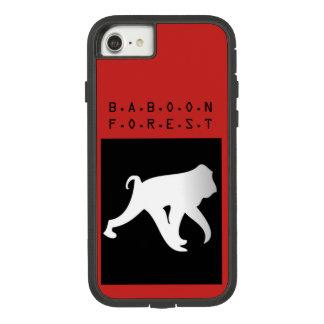 Couverture de téléphone de forêt de babouin coque Case-Mate tough extreme iPhone 8/7