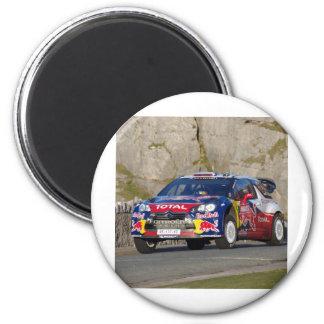 Couverture de voiture de rassemblement de WRC Magnet Rond 8 Cm