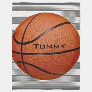 Couverture d'ouatine de conception de basket-ball
