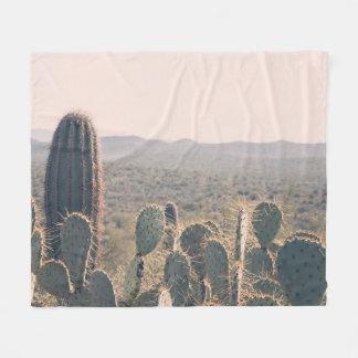 Couverture d'ouatine des cactus | de l'Arizona