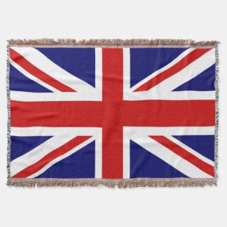 Couverture Drapeau très frais du Royaume-Uni l'union Jack