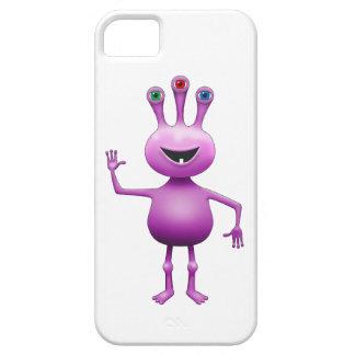 Couverture étrangère Insecte-Eyed pourpre de Coques iPhone 5 Case-Mate