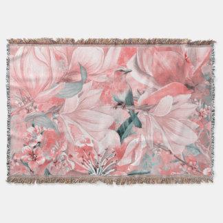 Couverture flowers2bflowers et #flowers de motif d'oiseaux