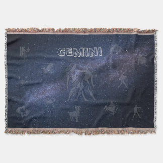 Couverture Gémeaux de signe de zodiaque