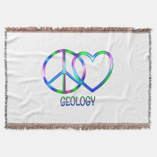 Couverture Géologie brillante d'amour de paix