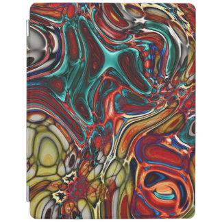 couverture intelligente d'ipad abstrait protection iPad