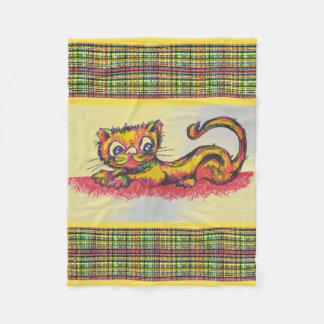 couverture jaune de chat