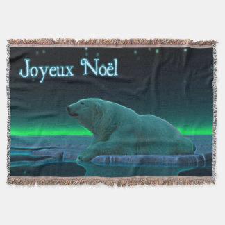 Couverture Joyeux Noёl - ours blanc de bord de glace