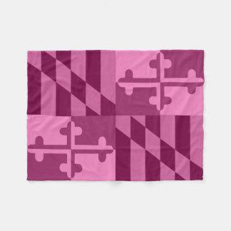 Couverture monochromatique de drapeau du Maryland