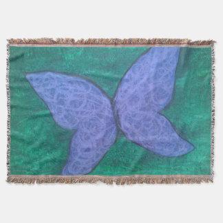Couverture Papillon bleu pourpre passionné du décor | sur le
