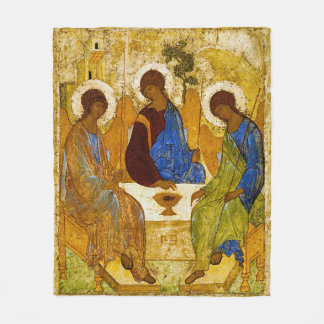Couverture Polaire Andrei Rublev, icon of the Trinity