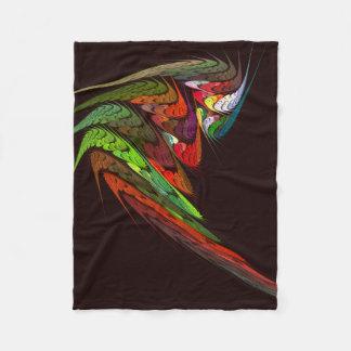 Couverture Polaire Art abstrait de caméléon