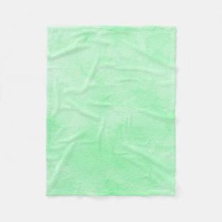 Couverture Polaire Beau ciel nuageux de batik vert en bon état