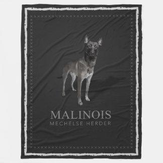 Couverture Polaire Belge Malinois - berger belge - Mechelaar