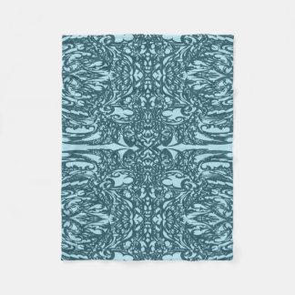 Couverture Polaire bleu