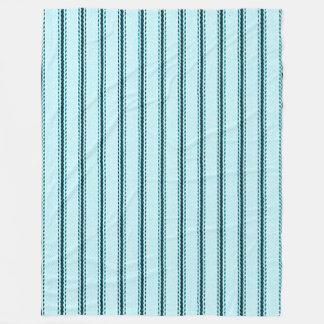 """Couverture Polaire Bleu de coutil de coussin d'atterrisseur """"de"""