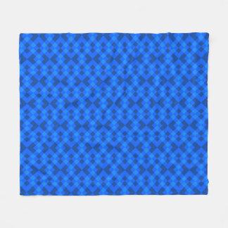 Couverture Polaire Bleu hypnotique