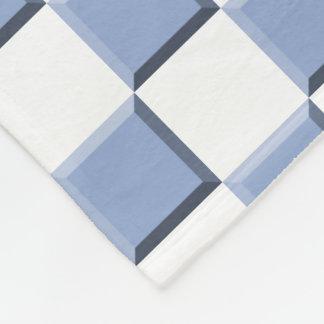 Couverture Polaire Bleu lilas de sérénité