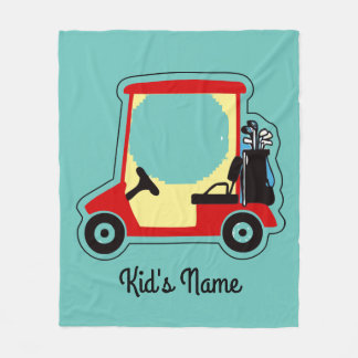 Couverture Polaire Chariot de golf