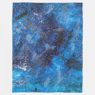 Couverture Polaire Cosmos bleu #1