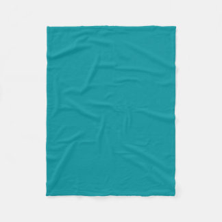Couverture Polaire Couleur turquoise snob de Paradingly