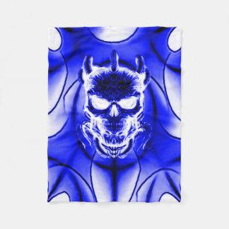 Couverture Polaire Crâne fantôme astral