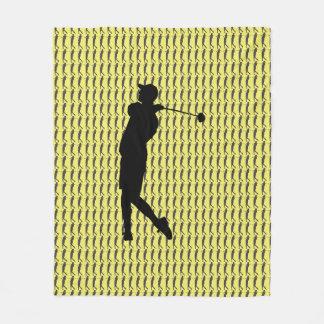 Couverture Polaire Golfeur