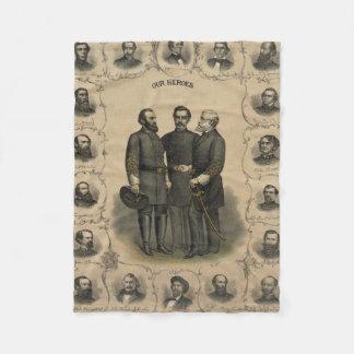Couverture Polaire Héros de guerre civile