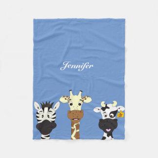 Couverture Polaire La bande dessinée drôle de vache à girafe de zèbre