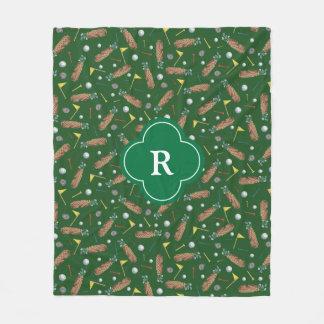 Couverture Polaire Monogramme d'équipement de golf