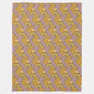 Couverture Polaire Motif mignon d'écureuil