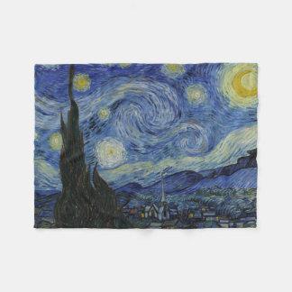Couverture Polaire Nuit étoilée Vincent van Gogh