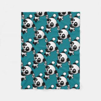 Couverture Polaire Panda de golf