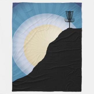 Couverture Polaire Panier sur une montagne