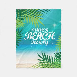 Couverture Polaire Partie de plage d'été