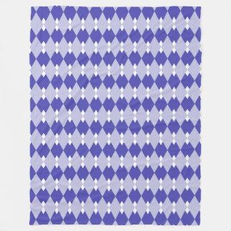 Couverture Polaire Plaid à motifs de losanges Pattern_4A46B0
