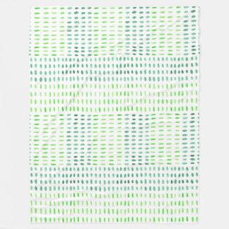Couverture Polaire Précipité dans le jet vert d'ouatine