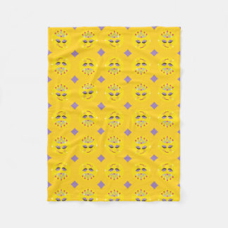 Couverture Polaire Princesse scintillante Emoji Pattern