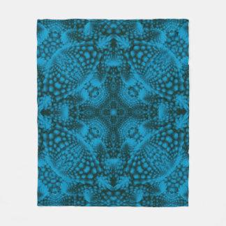 Couverture Polaire Tailles faites sur commande noires et bleues de la