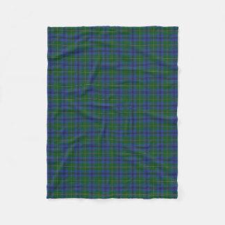 Couverture Polaire Tartan écossais de classique de Johnstone Johnston