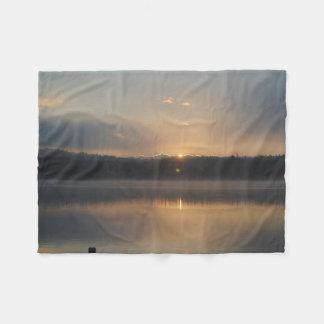 Couverture Polaire Un joli lever de soleil